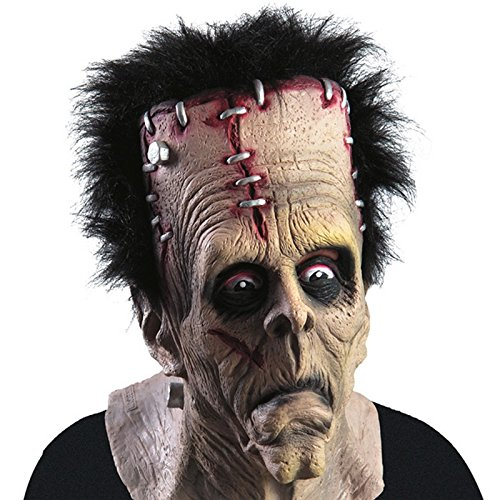 Masque Frankenstein Latex Zombie - Deguisement Halloween Accessoire - 706