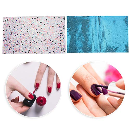 Portable Nail Art Table Mat, Shining Soft Durable Hand Holder Pad Manucure Tool Pliable Lavable Manucure Table Mat Set Tools Nail Art Hand Pad Strass Nail Art Beauty Accessory(#2)
