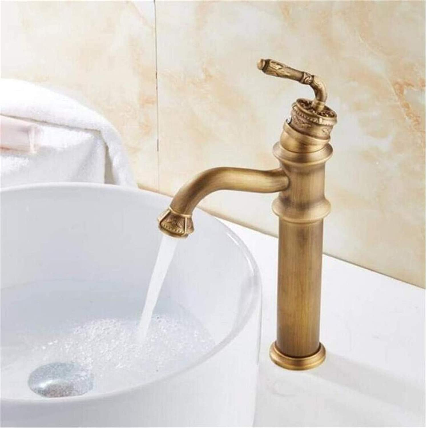 High Quality Vintage Stainless Steelbathroom Sink Faucet Luxury Basin Mixer Sink Faucet Tap Brass Water Tap