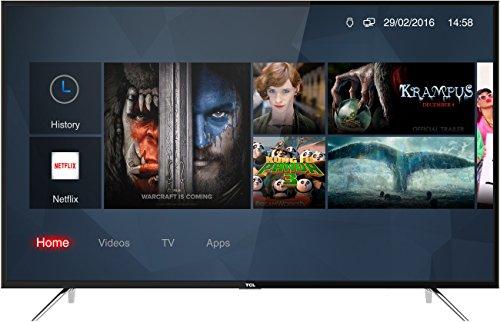 TCL 50DP600 - Televisor de 126 cm (50 Pulgadas), Smart TV con UHD 4K, LED, Color Negro [Clase de eficiencia energética A+]