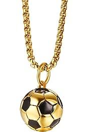 Amazon.es: balon de futbol - Collares y colgantes / Bisutería barata: Joyería