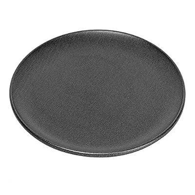 G & S Metal Products Company ProBake Non-Stick Teflon Xtra Pizza Baking Pan, 1, Charcoal