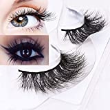Bluelans 3D Mink Fake Eyelashes Long Thich Hand-made False Lashes For Makeup 1 Pair