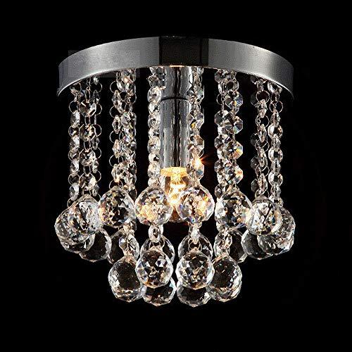Plafón Lámpara Techo,Redondas,Cristal Acrílico,LED Lámpara de Techo,Moderna LED Luz de Techo,para Baño...