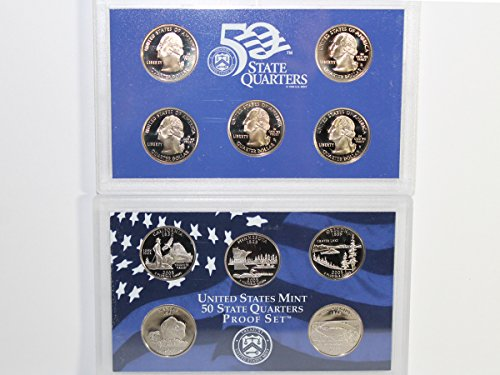 2005 S US Mint State Quarter Proof Set Gem Uncirculated
