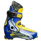 La Sportiva Sideral 2.0 - Botas de esquí de travesía, Color Amarillo/Azul, Talla 26