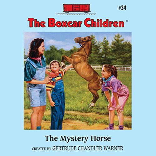 The Mystery Horse audiobook cover art