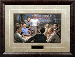 WildlifePrints GRAND OL' GANG by Andy Thomas Matted & Framed 25