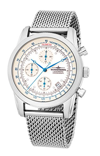 Thunderbird Landmark Chrono - weisses Zifferblatt 5ATM