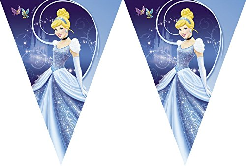 Cinderella Party Wimpel Banner
