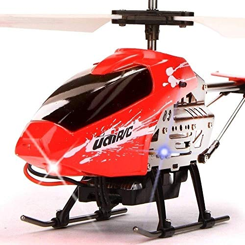 SSBH Aviones RC Helicopte Aviones con 3.5 canales, control remoto más grande Helicóptero de avión Material de aleación de avión Estabilizador de giroscopio y Drone de protección múltiple de alta y baj
