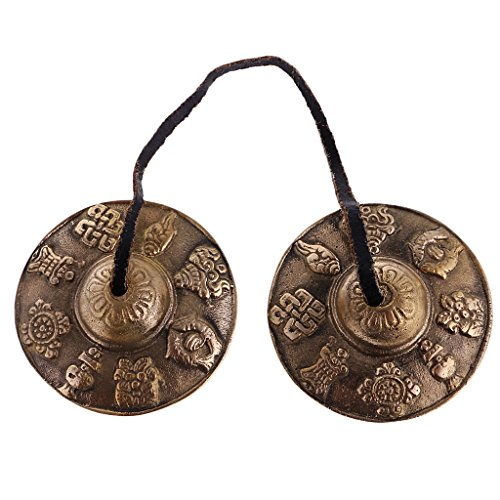 Cymbales de méditation tibétaines