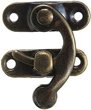 Praktisch Swing Hook Sluiting Metal Antique Brass juwelenkistje Klink Catch Trinket Met Rivet