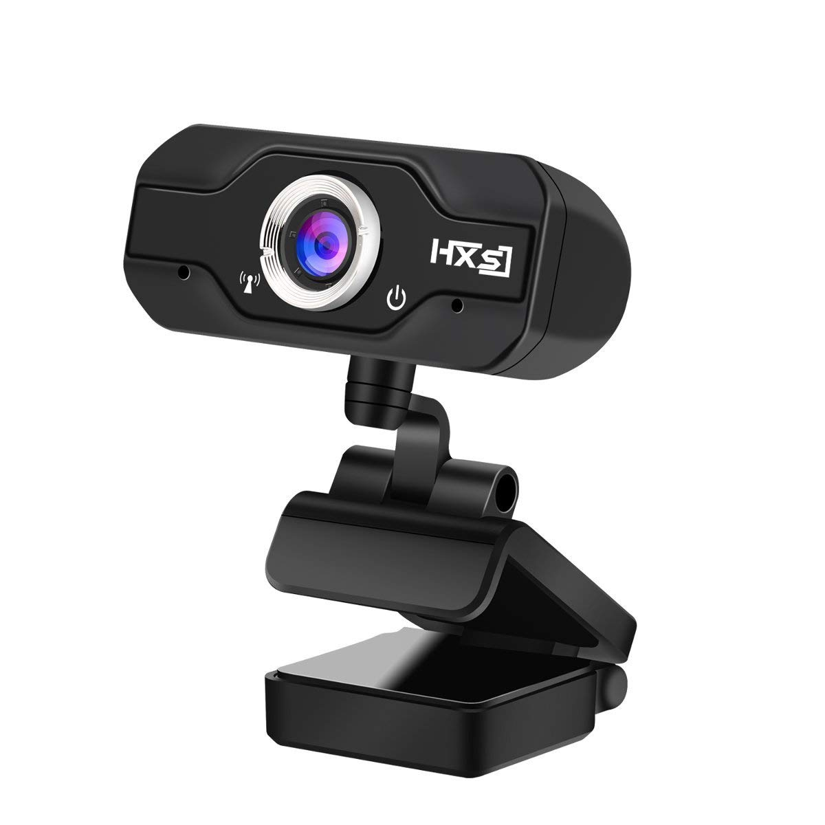 Amazon Com 720p Hd Webcam Inteching Usb Widescreen Computer Camera With Microphone For Windows Xp Vista 7 8 8 1 10 Pc Desktop Or Laptop Livestream Skype Cam Computers Accessories