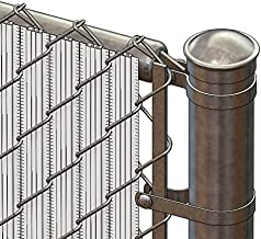 winged slats for chain link fence
