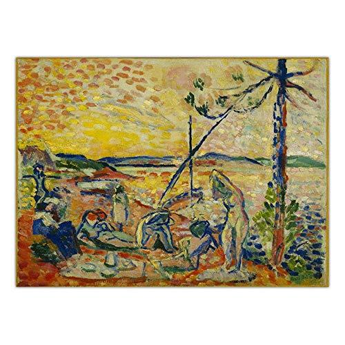 Dekoration Kunst Wandbilder Für Wohnzimmer Poster Drucken Leinwand Gemälde Französisch Henri Matisse 50x60cm K00862
