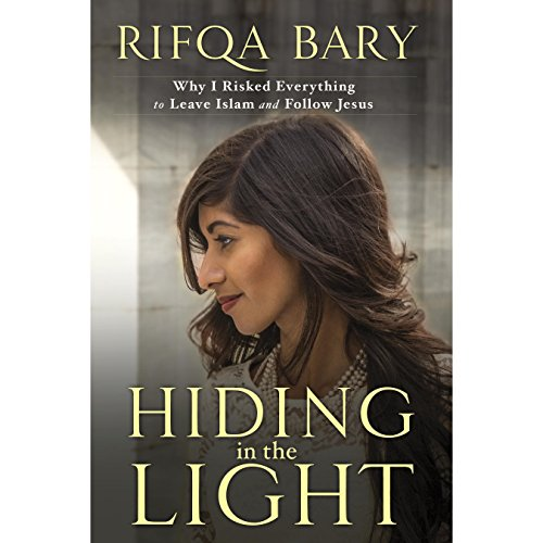Hiding in the Light audiobook cover art