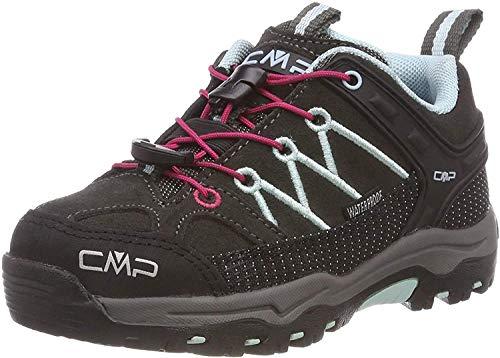 CMP Unisex-Kinder Kids Rigel Low Shoes Wp Trekking- & Wanderhalbschuhe, Braun (Arabica-Sky Light 76bn), 31 EU