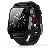 Apple Watch 38mm ケース バンド 一体 落下衝撃 吸収 シリコンバンド 柔らかい スポーツに向け 交換バンド 装着簡単 Apple Watch Series 3/2/1対応(ブラック 38mm)