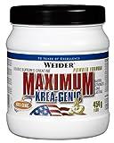 Muskelaufbaumittel -Weider - Maximum KREA-GENIC® Pulver (454g Dose)