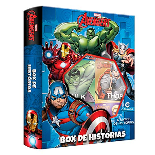 BOX DE HISTORIAS VINGADORES