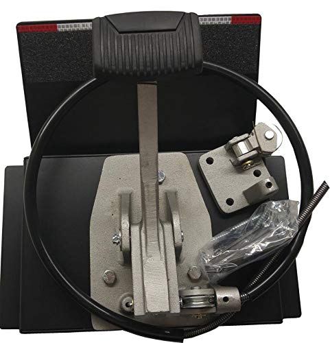 "Universal Dual ""Platform Brake"" Set, Instructors Passenger Side Brake, School Student Drivers Ed Training Brake Pedal Set, Drill-less Design"
