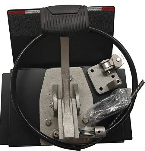 "Universal Dual ""Platform Brake"" Set, Instructors Passenger Side Brake, School Student Drivers Ed Training Brake Pedal Set, Drill-less Design"