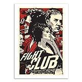 WALL EDITIONS Art-Poster - Fight Club - Joshua Budich - Format : 50 x 70 cm
