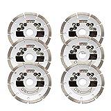 Disco de corte de diamante, 6 unidades, para fresadora Parkside 1350 C3 - LIDL IAN 291805