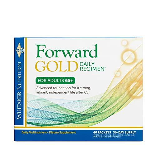 Dr. Whitaker's Forward Gold Daily Regimen Multi-Nutrient Vitamin Supplement...