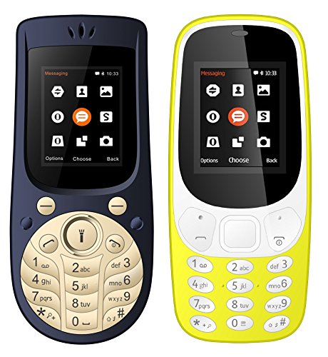 IKALL 18 inch Mobile Combo of K3310 and K18 New K3310 YELLO