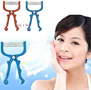 Niome New Handheld Facial Hair Removal Threading Beauty Epilator Tool 01 Blue