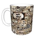 Disney Mickey Mouse divertente tazza da caffè, taglia unica, multicolore