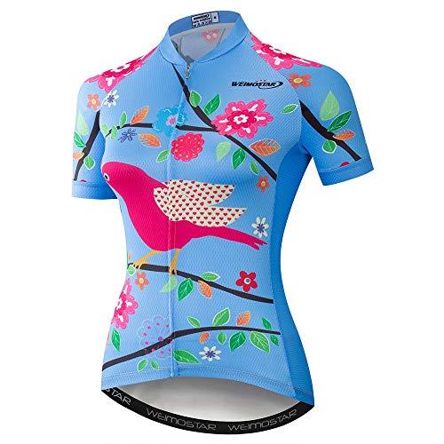 weimostar fietsshirt vrouwen fietsshirt Pro Team zomer korte mouw MTB fietsshirt Top Quick Dry fietskleding