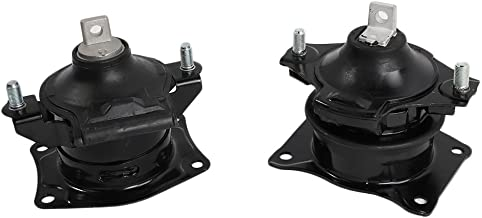 Front & Rear Motor Mount Set of 2 Fit For 2004-2008 Acura RL Compatible with A4526HY A4599HY