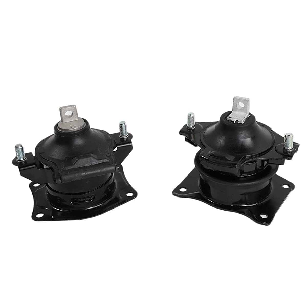 Front & Rear Motor Mount Set of 2 for 2004-2008 Acura RL Compatible with A4526HY A4599HY