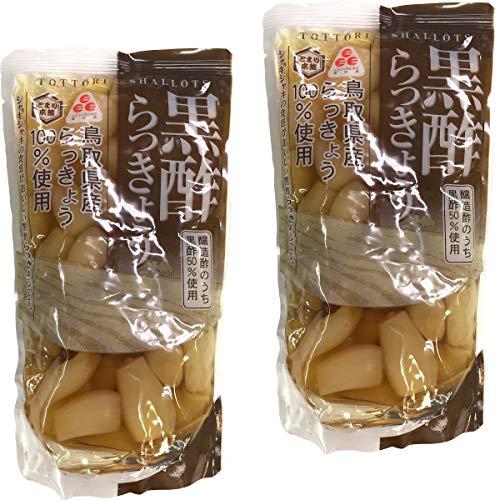 【国産100%】黒酢らっきょう 220g×2袋セット