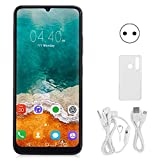 Worii Face ID Phone, MTK6580P Quad-Core CPU 6.7Inch Smart Phone para Android, cámara de Belleza HD para Viajes de Juegos(European regulations)