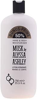 Alyssa Ashley - MUSK hand & body lotion 750 ml limited edition
