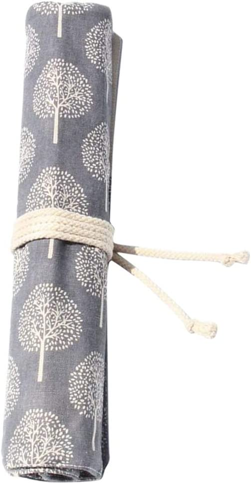 Mail order Segolike 20 Slots Canvas Wrap Roll Outlet SALE Up Cosmeti Brushes Paint Case