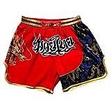 Pantalones de boxeo pantalones cortos de MMA pantalones cortos de boxeo de entrenamiento de artes marciales para hombres pantalones deportivos de...