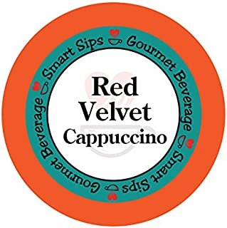 Smart Sips, Red Velvet Cappuccino, 24 Count, Compatible With All Keurig K-cup Brewers