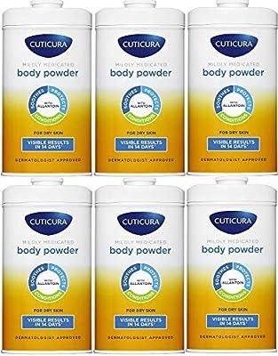 6 x Cuticura Mildly Medicated Talcum Powder 150g