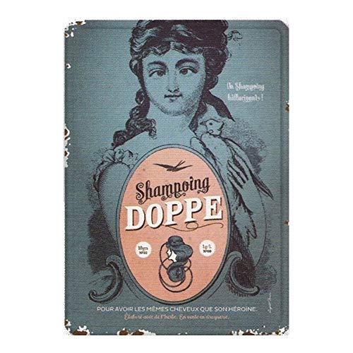 La Plaque reclame shampoo dubbele – humor – augustus Derrière