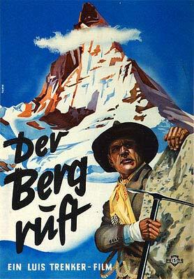 Kunstdruck Der Berg Ruft Luis Trenker Matterhorn Erstbesteigung Gipfel Film Plakate A2 242