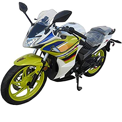 Lifan KPR 200 200cc Fully Assembled Adult Gas Motorcycle Moped Scooter ?Team Color
