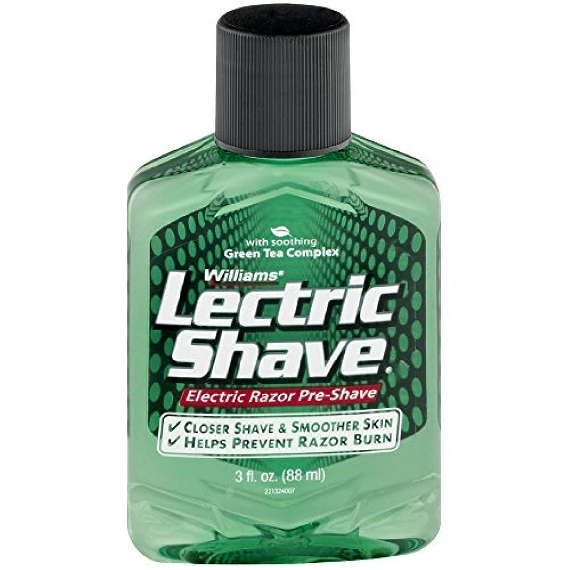 人気の穀物女将Lectric Shave Pre-Shave Original 3 oz (Pack of 3) [並行輸入品]