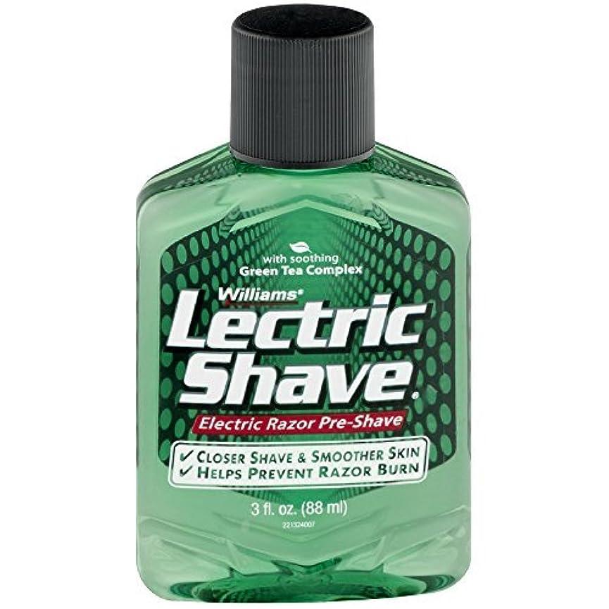 フラフープスケジュール環境保護主義者Lectric Shave Pre-Shave Original 3 oz (Pack of 3) [並行輸入品]