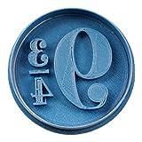 Cuticuter 9 Y 3/4 Harry Potter Cortador de Galletas, Azul, 8x7x1.5 cm