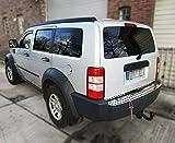Recambo CT-LKS-1130 Protector para Borde de Carga de Acero Inoxidable Cromado para Dodge Nitro 2005-2011, Large